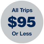 All trips $95 or less