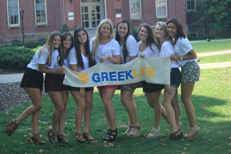 Join Greek Life West Virginia University
