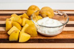 Greek Yogurt Mashed Potatoes