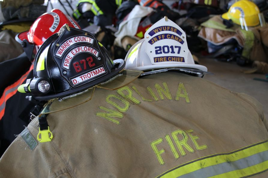 Firefighter gear and helmets