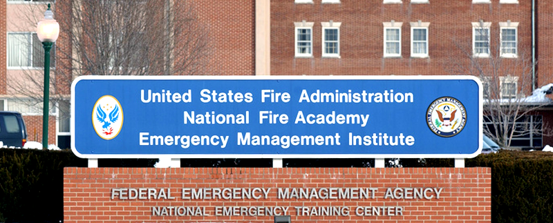 United States Fire Academy Sign
