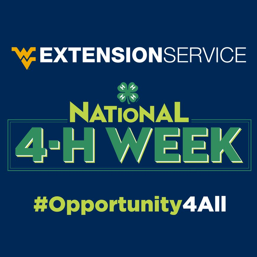 National 4-H Week Opportunity 4 All