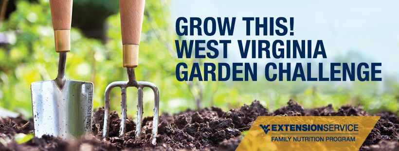 Grow This! West Virginia Garden Challenge by the West Virginia University Extension Service Family Nutrition Program.