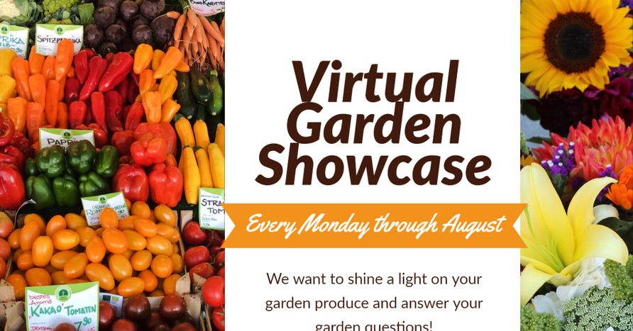 Virtual Garden Showcase plus directions to participate