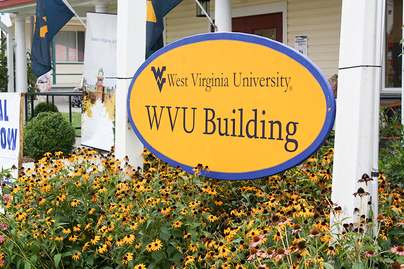 WVU Building at the State Fair of West Virginia