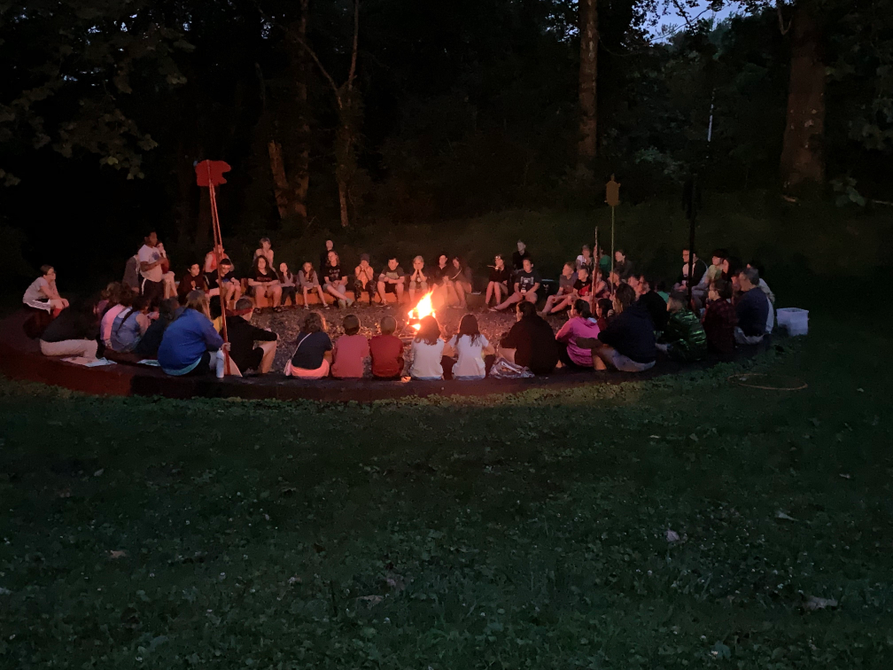 2019 Cabell County Younger 4-H Camp Council Circle.