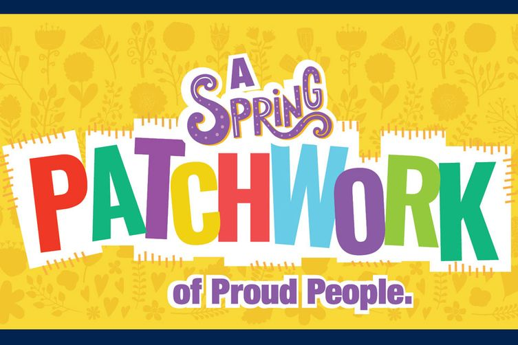 A Spring Patchwork of Proud People. WVU Extension Service Community Educational Outreach Service.