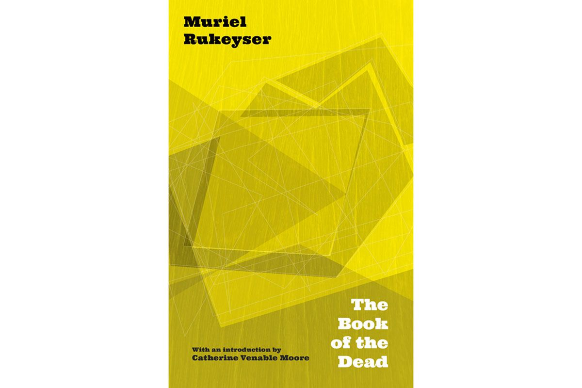 Book of the Dead cover with Muriel Rekeyser's name and 'The Book of the Dead' title on it.