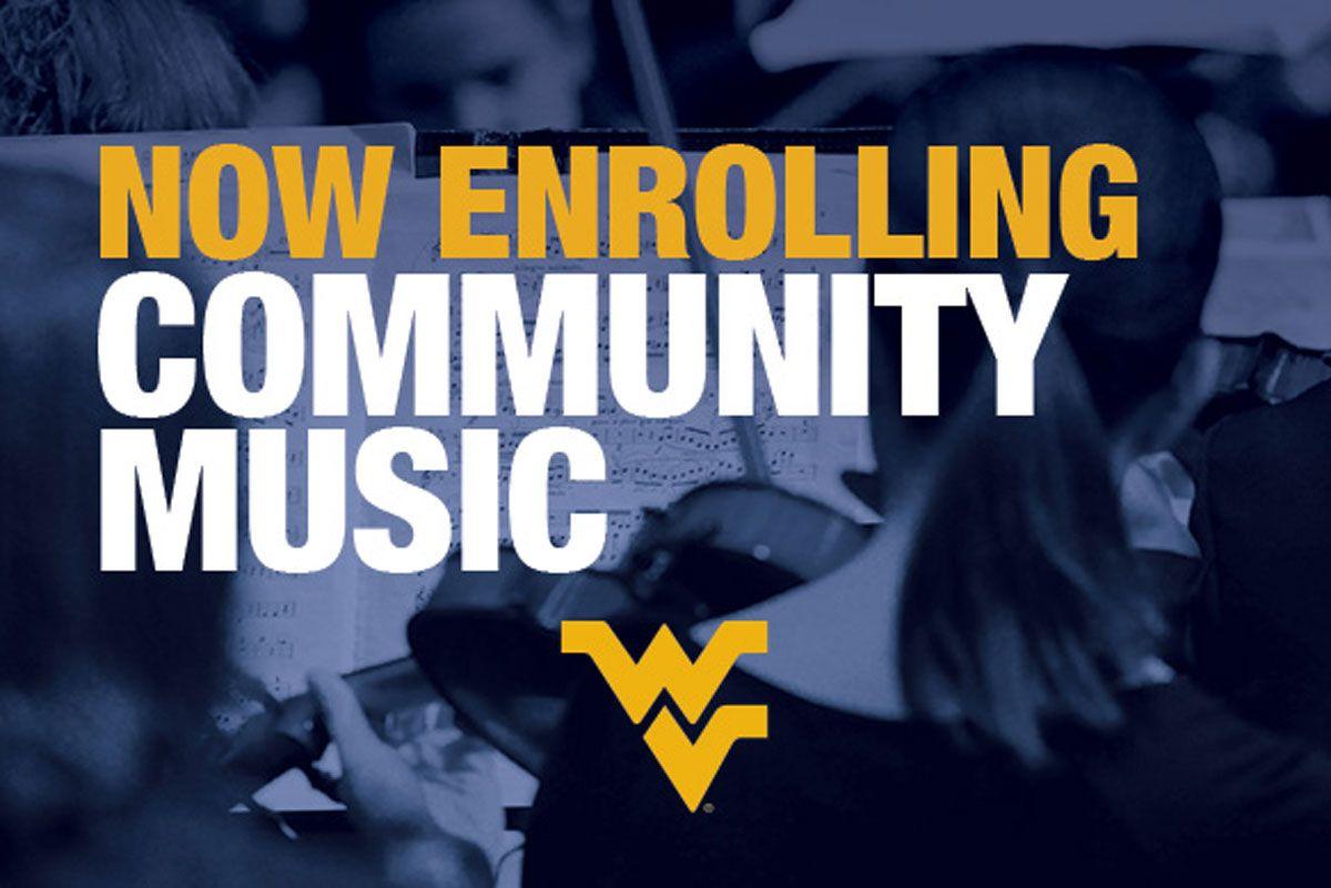 Community Music Program graphic.