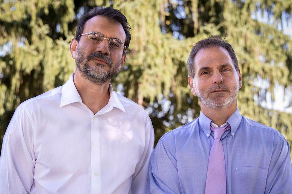 Dr. Raylman and Mark Tseytlin