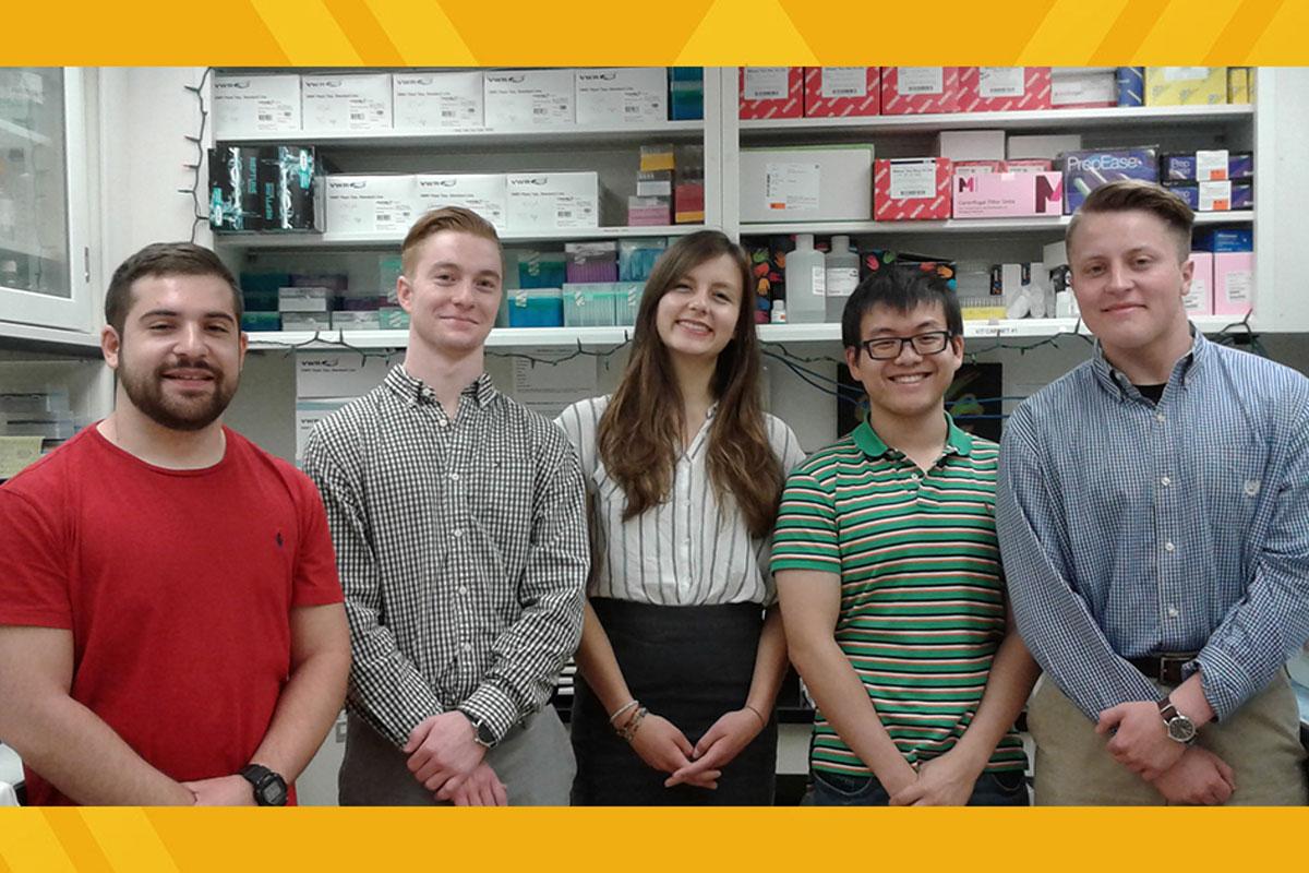 Summer Fellow group photo.