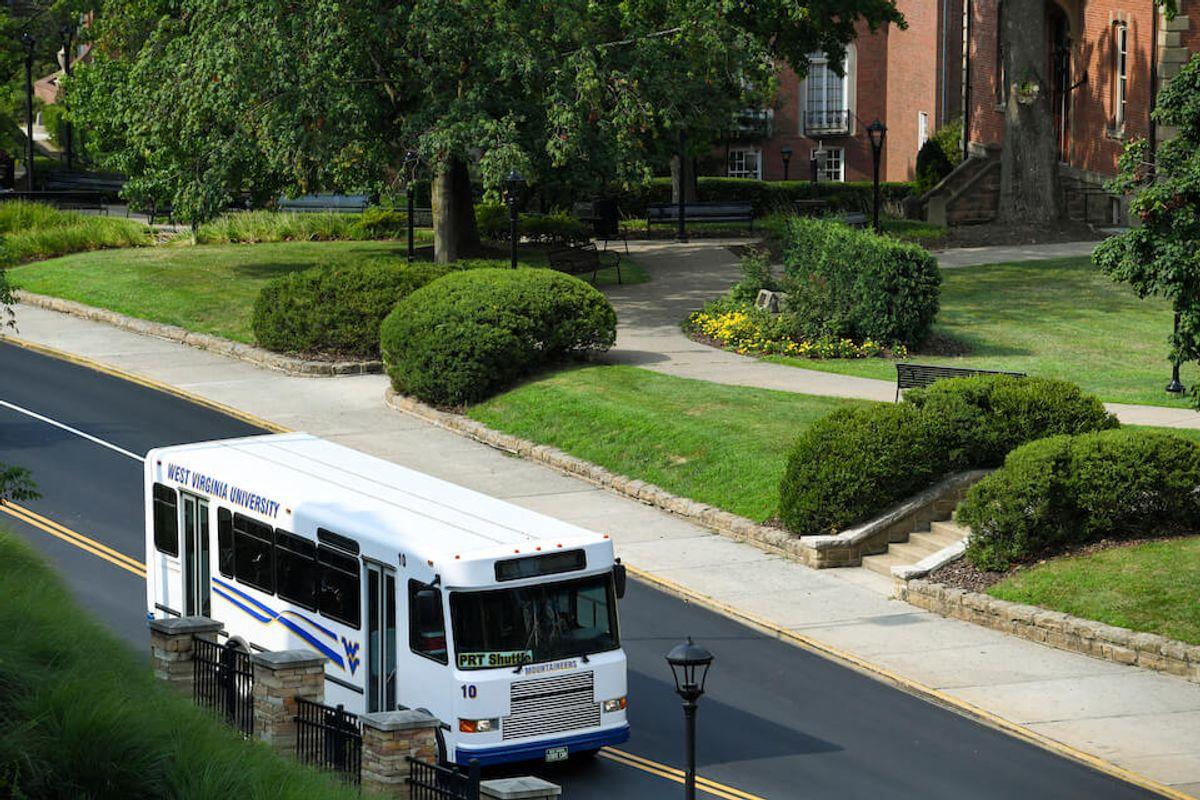 wvu transportation bus