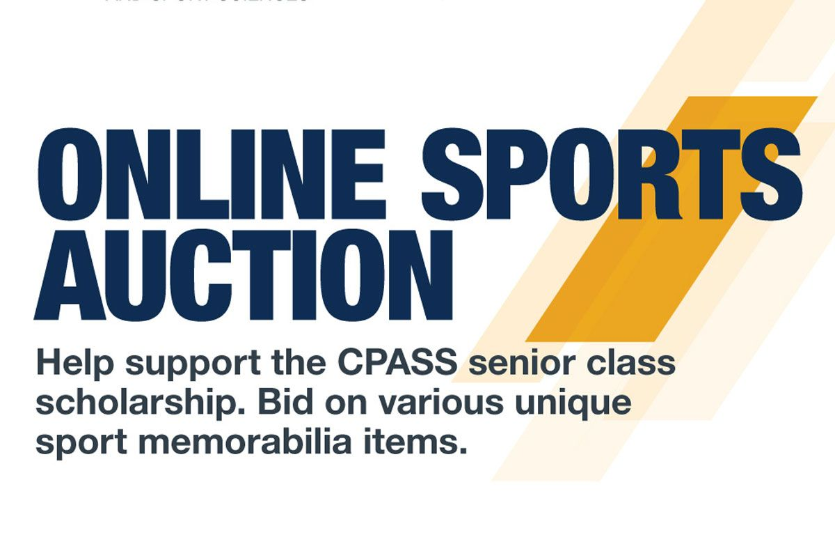 045287eb365 Online Sports Auction - Help support the CPASS senior class scholarship.  Bid on various unique