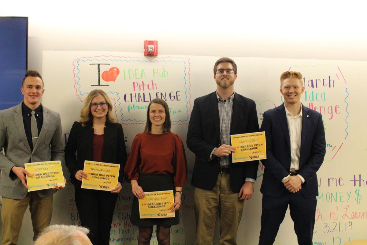 Winners of the 2019 'I Heart IDEA Hub Pitch Challenge'