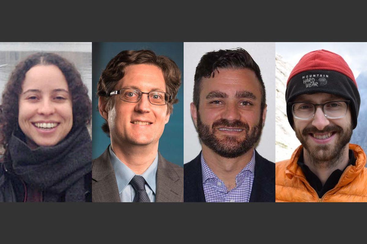 Carol Arantes, Eric Bowen, Christopher Russoniello and Charlie Shobe