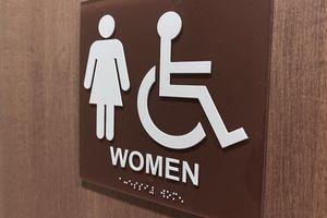 Accessibility ada sign