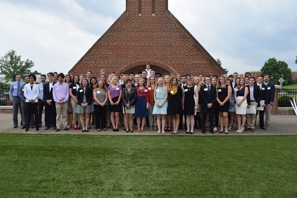 Group of summer undergraduate research students.