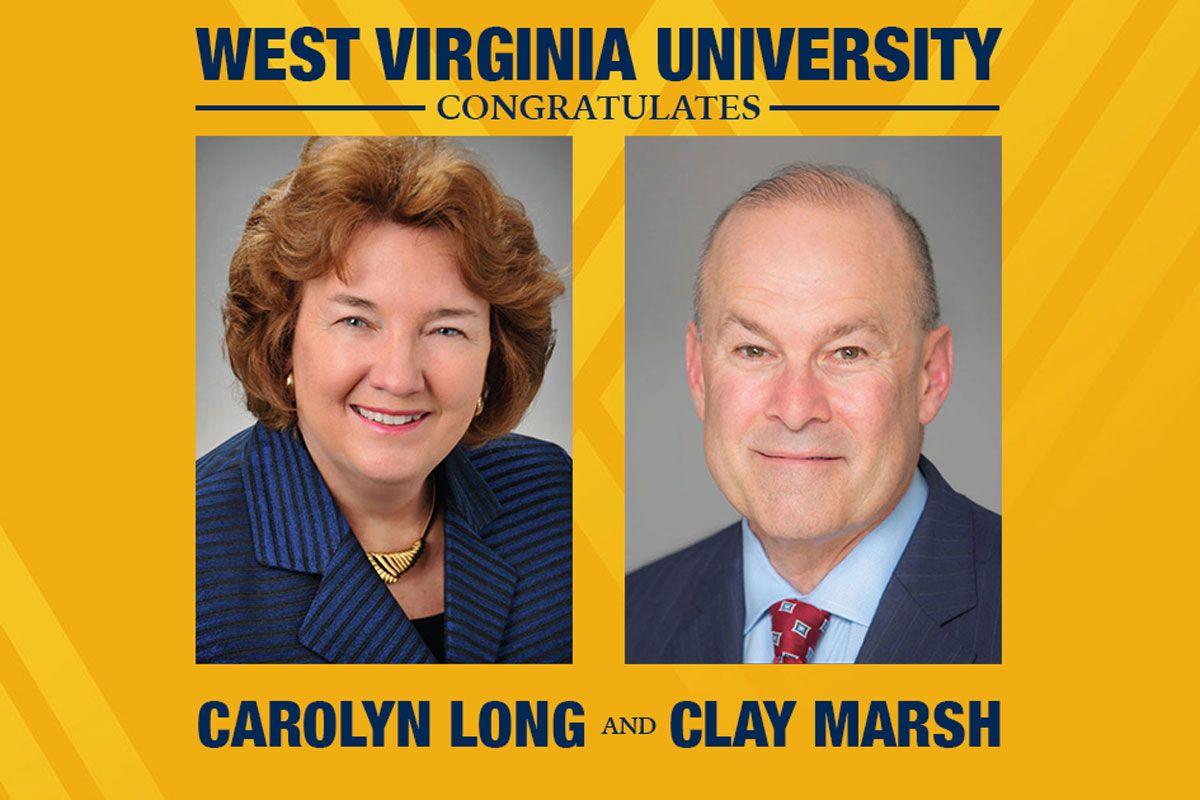 Carolyn Long and Clay Marsh portraits.
