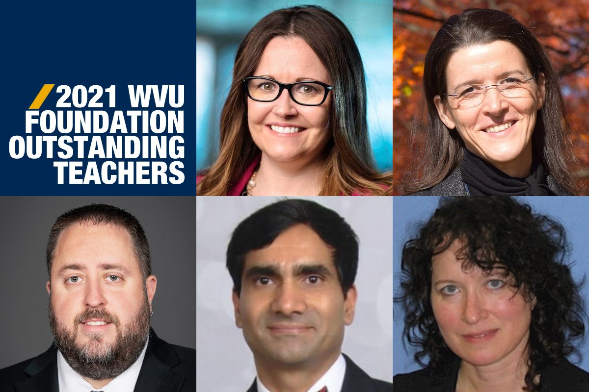 WVU Foundation Outstanding Teachers 2021