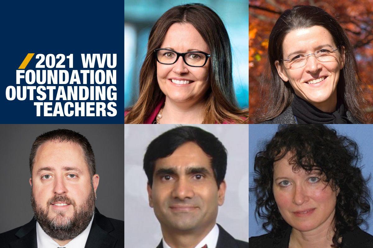 WVU Foundation Outstanding Teachers 2021
