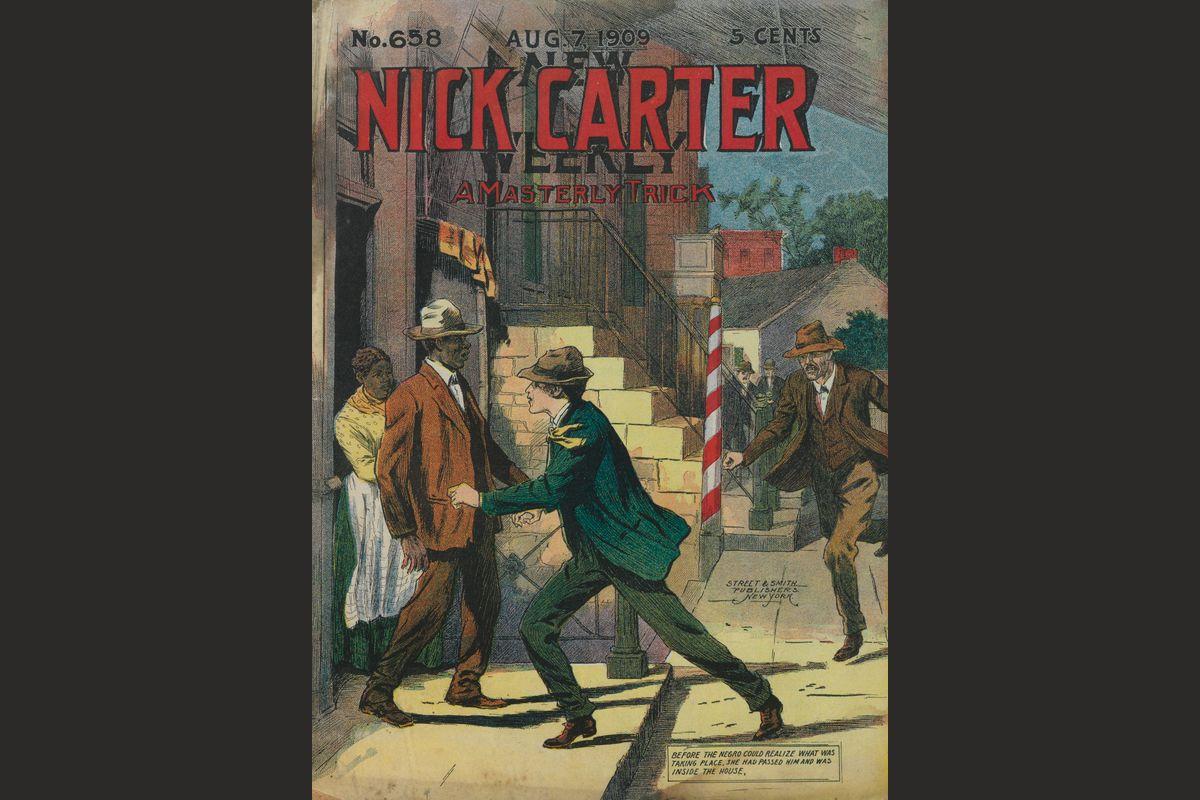 nick carter comic book