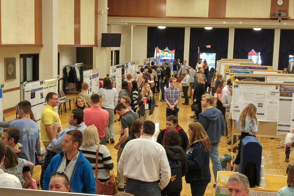 A crowded Spring Symposium.