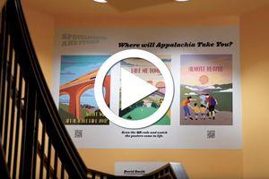Appalachian Futures exhibit