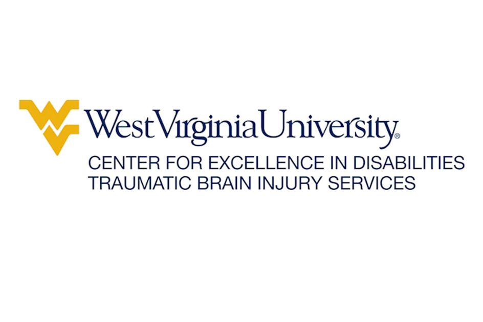The West Virginia University Center for Excellence in Disabilities Traumatic Brain Injury Services logo.