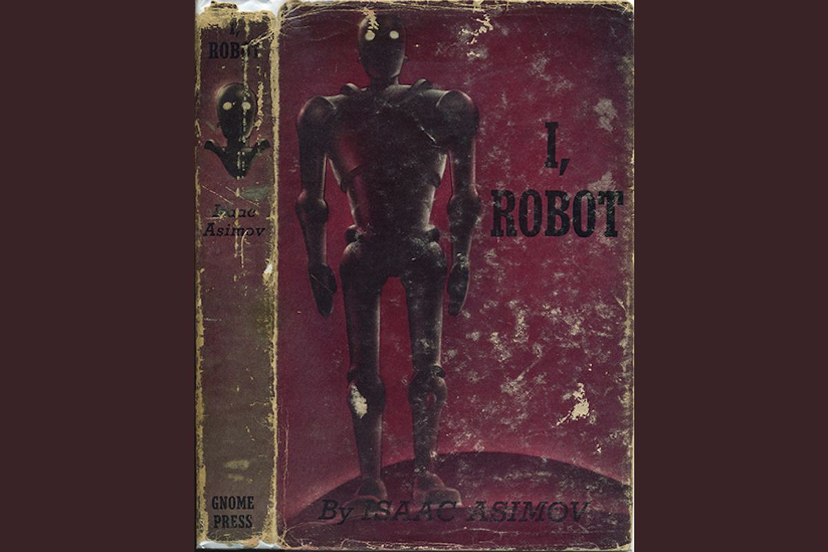 Old irobot book cover