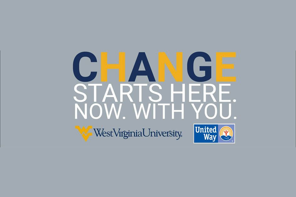 United Way campaign graphic - Change Starts here. Now. With you.