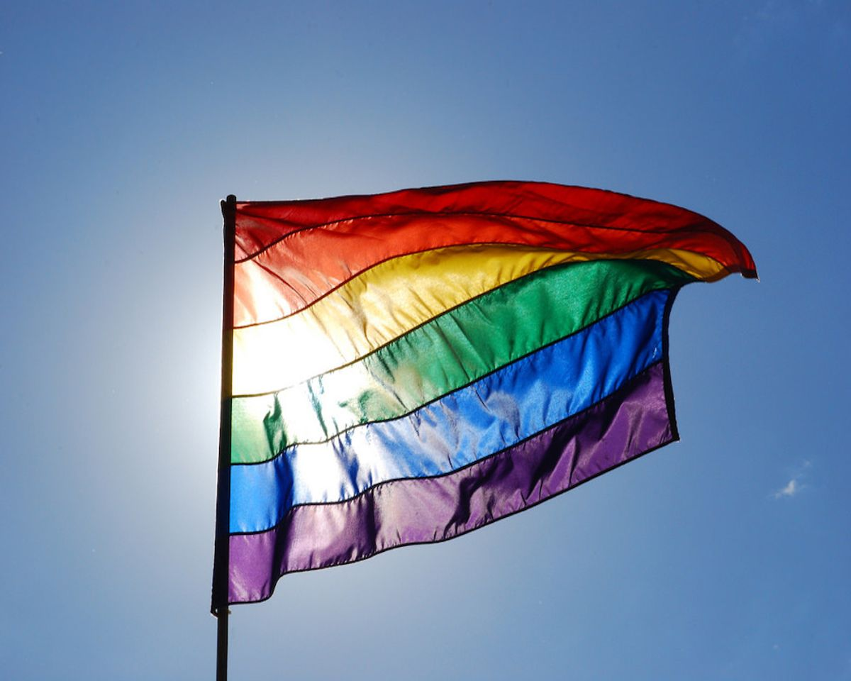 lgbtq commission flag
