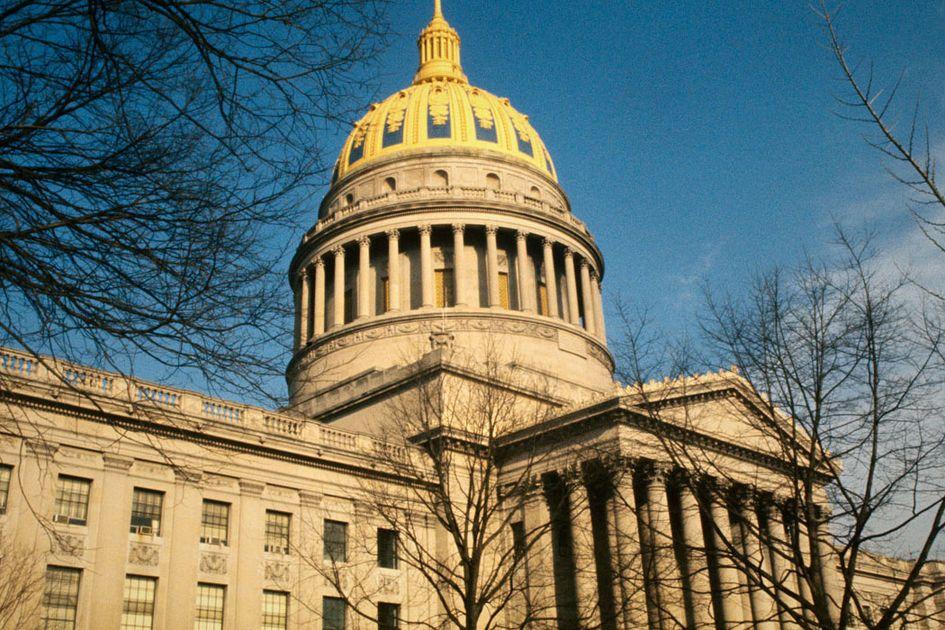 The West Virginia Capitol building