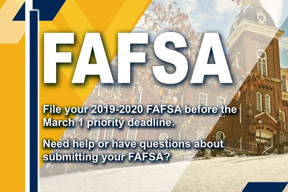 A FAFSA graphic.