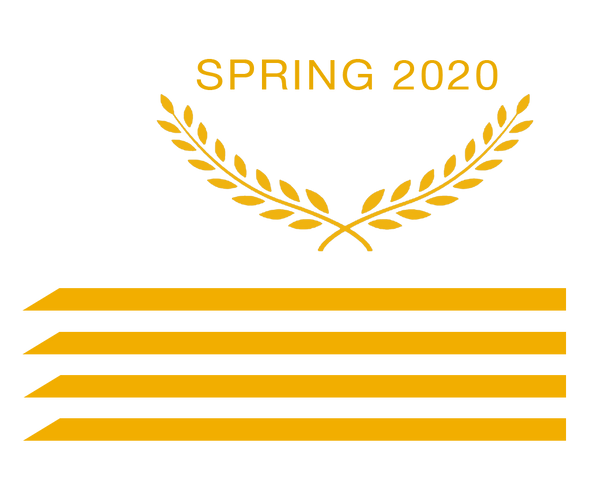 Spring 2020  laurel wreath gold bars