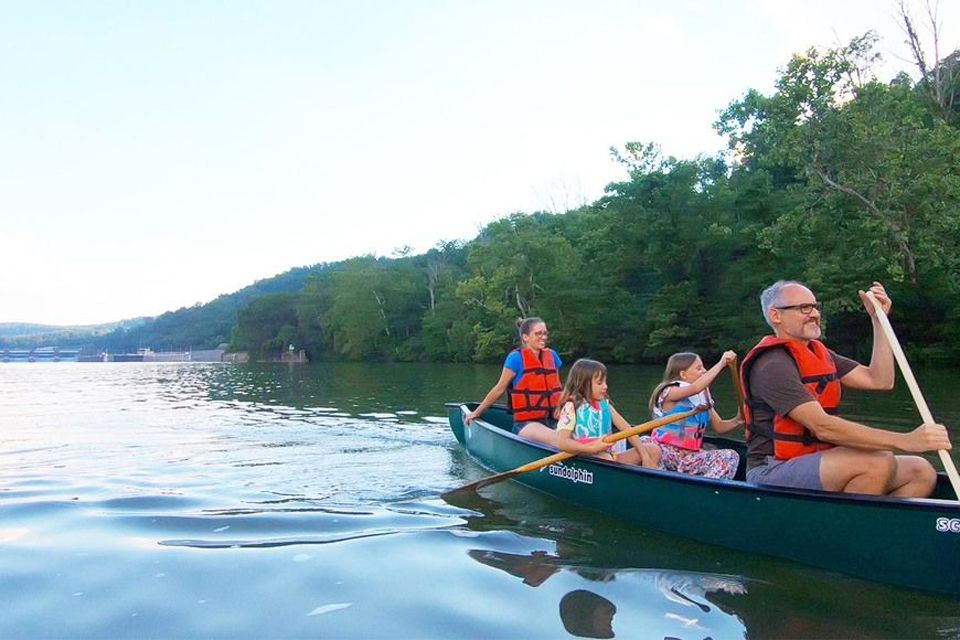 Canoeing on the Monongahela River