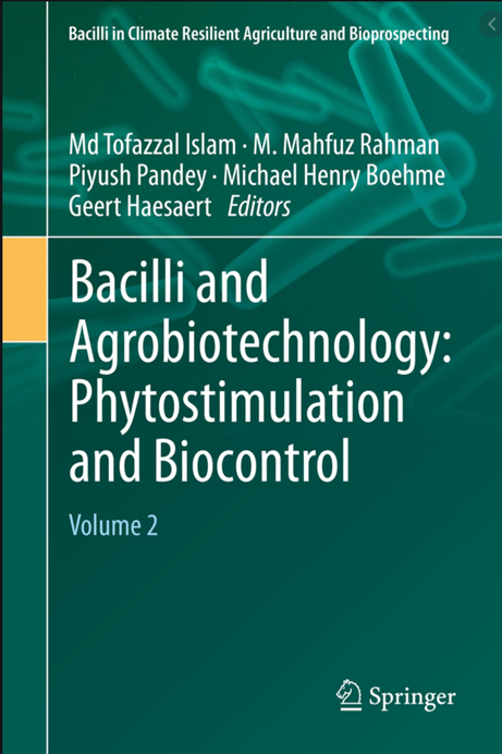 Bacilli and Agrobiotechnology: Phytostimulation and Biocontrol book cover