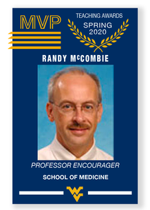 Baseball card graphic of MPV with Randy McCombie