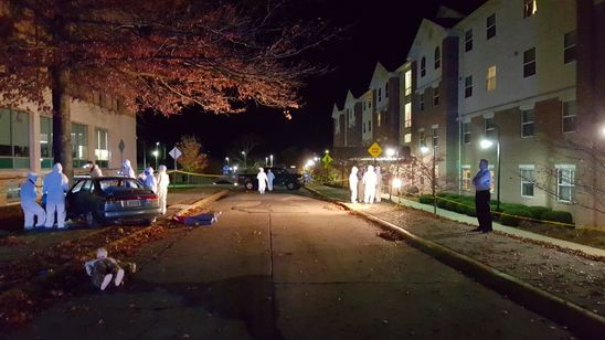 Night Crime Scene | Department of Forensic and Investigative