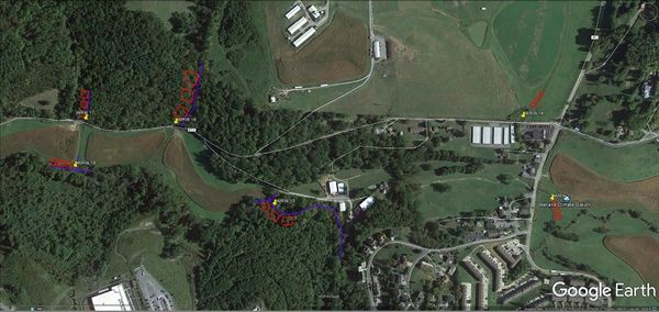 West Run Watershed Pilot Study site.