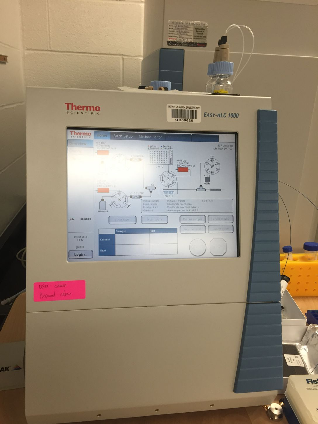 ThermoFisher Scientific Easy-nano-Ultra High Performance Liquid Chromatography