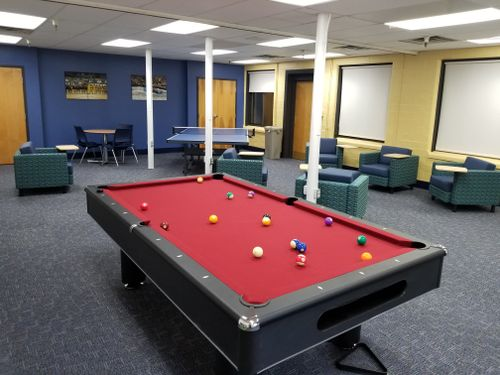 A new space for students to hang out on campus.