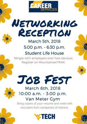 JobFest is March 6, 2018