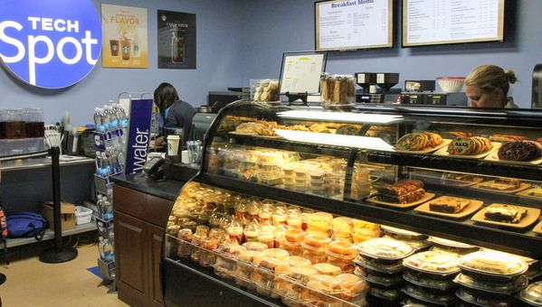 The Tech Spot is the newest place on campus to grab a meal.