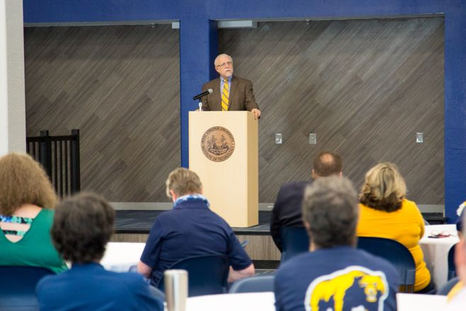 Dr Lang delivers State of Tech Address