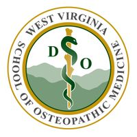 The official wordmark of the West Virginia School of Osteopathic Medicine