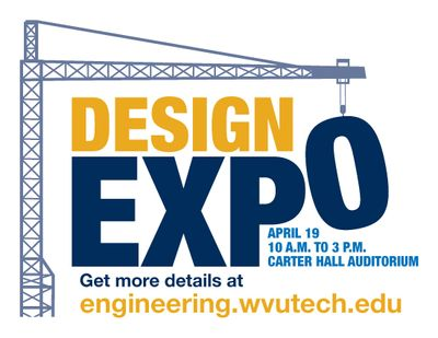 The WVU Tech Student Design Expo is April 19, 2018.