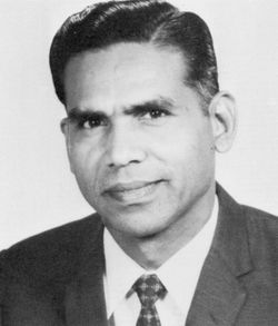 Dr. Swami in 1971
