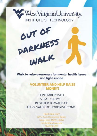 Out of the Darkness Walk