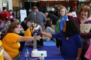 WVU Tech students teach static science to K-12 kids at Discover Engineering Day