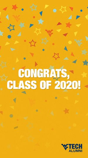 Congratulations, Class of 2020! (Instagram story image)